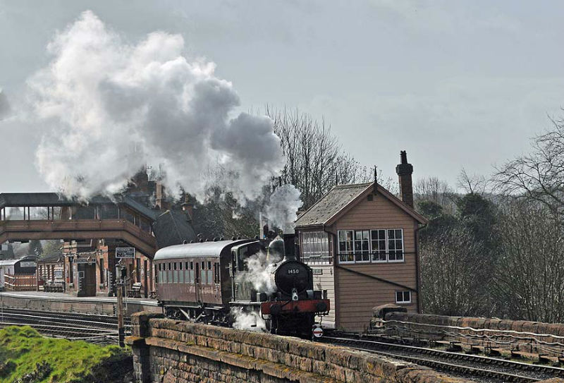 Crossing Bewdley Viaduct