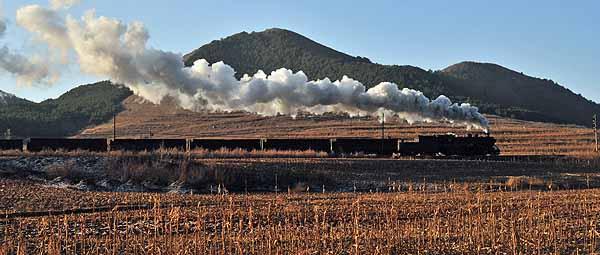 SY 1299 between the power station at Shuguotun and Hongshila.