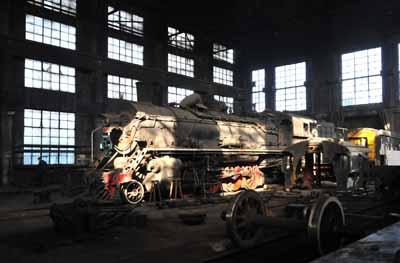 SY 0317 in the workshops near Yijing mine.