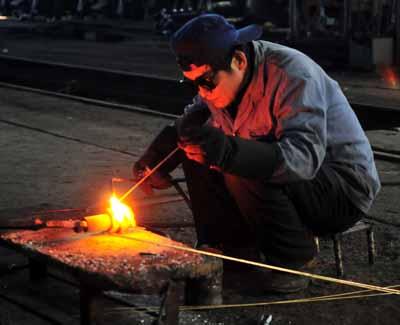 A welder.