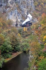 Travelling through the gorges having crossed the Serbian / Bosnian border.