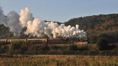 3990,City of Truro climbs up to Arley.