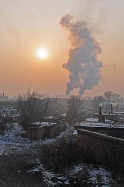 Jixi Town steam.