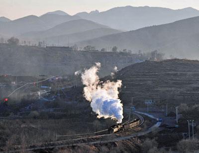 Near Shichang having left Sanjiazi.