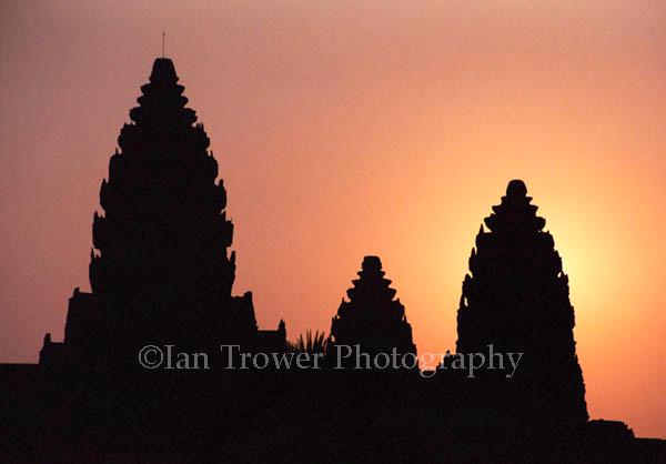 Towers At Angkor Wat