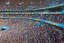 Crowd at World Cup match, Brasilia