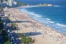 View of Ipanema beach, Rio de Janeiro
