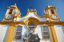 Church in Tiradentes, Minas Gerais