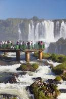 Walkway at Iguacu Falls
