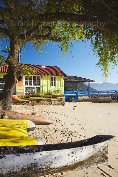 Beach scene, Ilha Grande