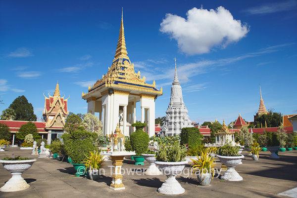 Silver Pagoda in Royal Palace, Phnom Penh