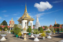 Silver Pagoda in Royal Palace, Phnom Penh