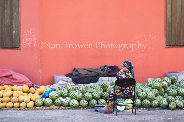 Fruit Seller, Urumqi