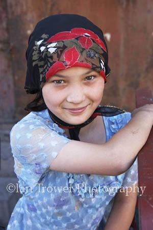 Uighur Girl, Urumqi, China