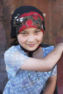Uighur Girl, Urumqi, China
