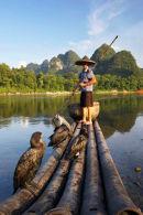 Cormorant Fisherman, Yangshuo, Guangxi
