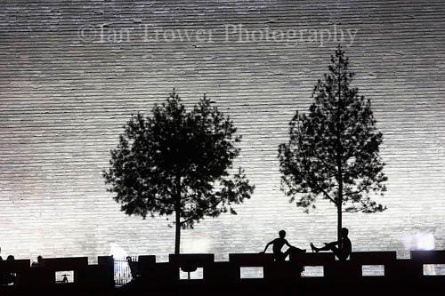 City Wall Silhouettes, Xian, Shaanxi