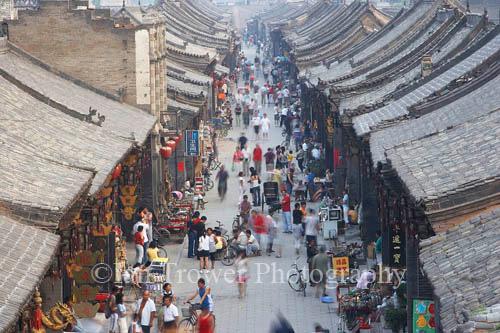 Rooftops, Pingyao, Shanxi