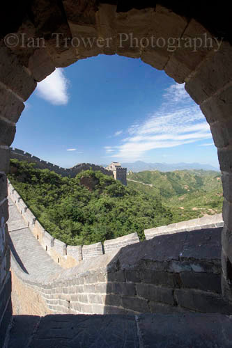 Framing The Great Wall, Simatai, Beijing