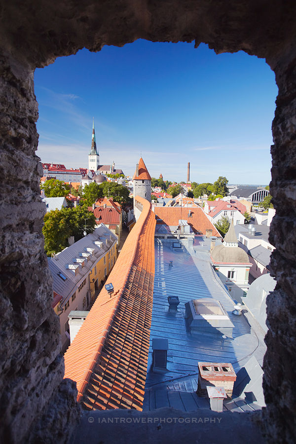 Tower View Of Old Town, Tallinn
