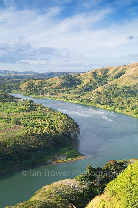 View of Sigatoka River, Viti Levu