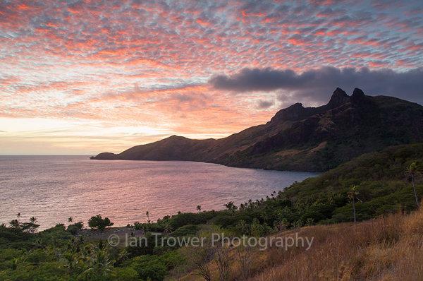 Waya Island at dawn