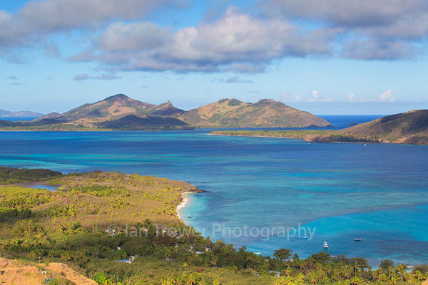 View of Blue Lagoon, Nacula Island