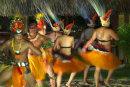 Tahitian dancers, Bora Bora