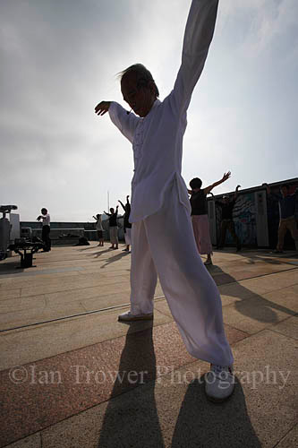 Morning Tai Chi At Peak