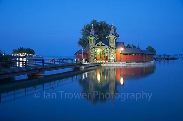 Pier on Lake Balaton, Keszthely