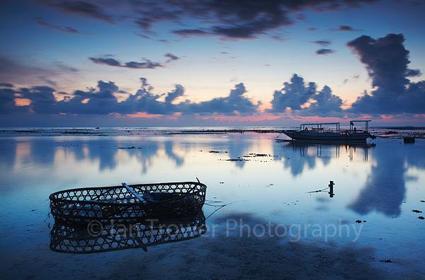 Dawn on Nusa Lembongan, Bali