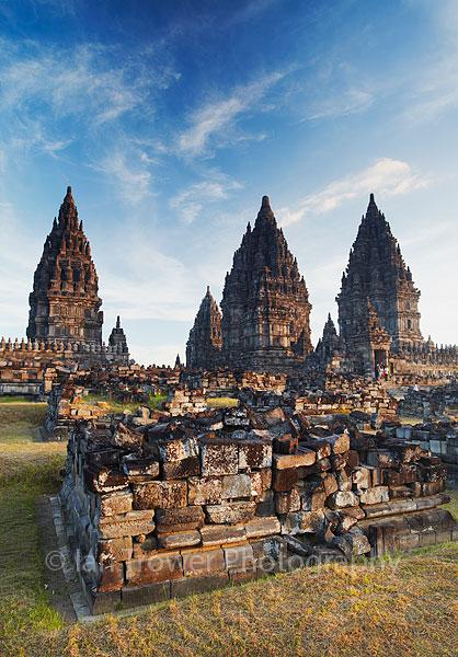 Prambanan temple, Java