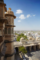 View from City Palace, Udaipur