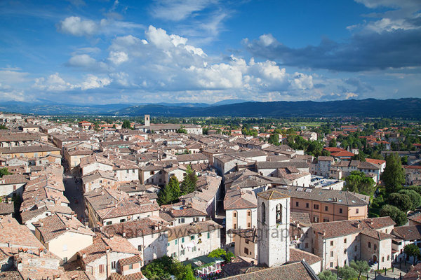 View of Gubbio, Umbria