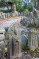 Holy stones at Gangoji Temple, Nara