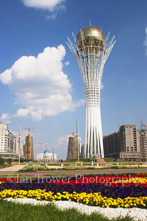Futuristic Tower, Astana, Kazakhstan
