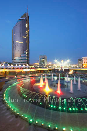 Night Fountain, Astana
