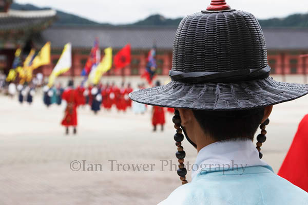 Guard At Gyeongbokgung, Seoul
