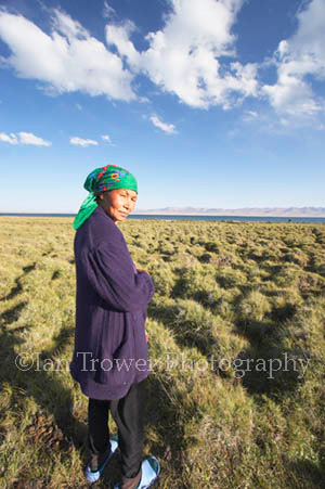 Nomadic Woman, Song-Kul, Kyrgyzstan