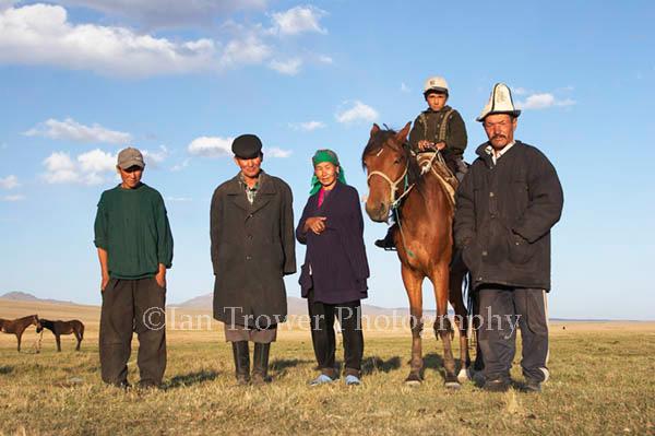 Nomadic Family, Song-Kul, Kyrgyzstan