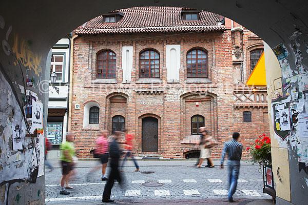 Blurred Pedestrians, Vilnius