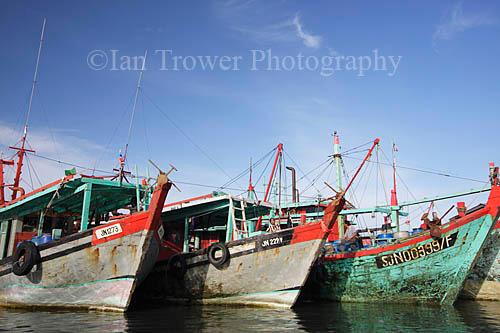 Fishing Boats, Pulau Labuan, Sabah