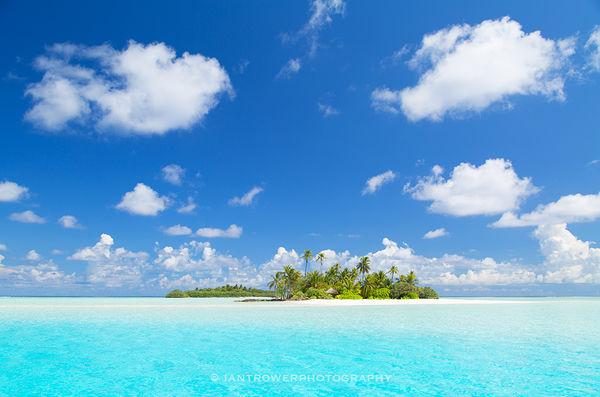 Tropical island, Kaafu Atoll