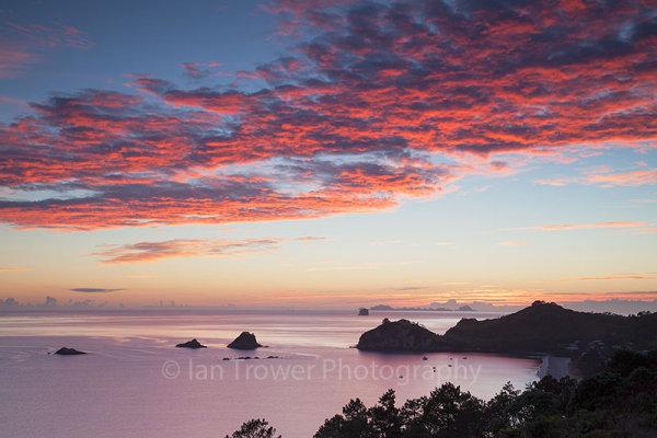 Hahei Beach at dawn, Coromandel Peninsula