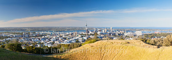 View of Auckland from Mount Eden