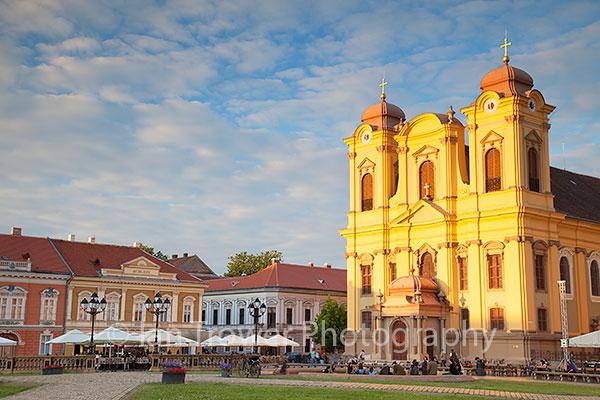 Roman Catholic Cathedral in Piata Unirii, Timisoara