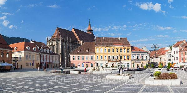 Black Church and Piata Sfatului, Brasov