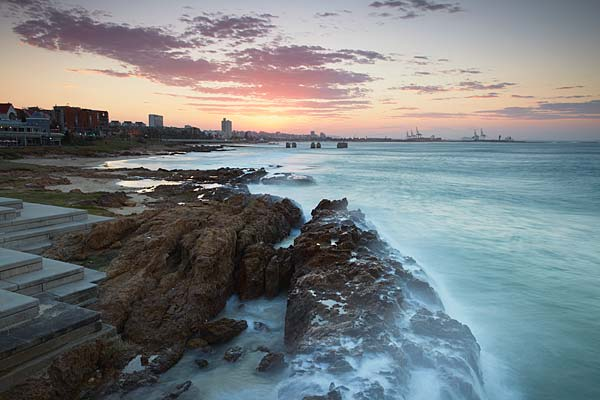 Sunset at Port Elizabeth