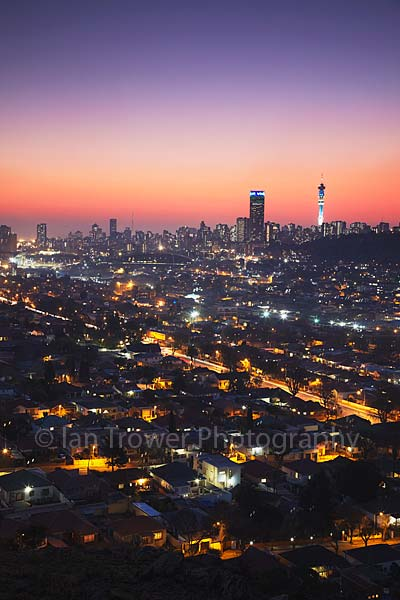 Downtown skyline, Johannesburg
