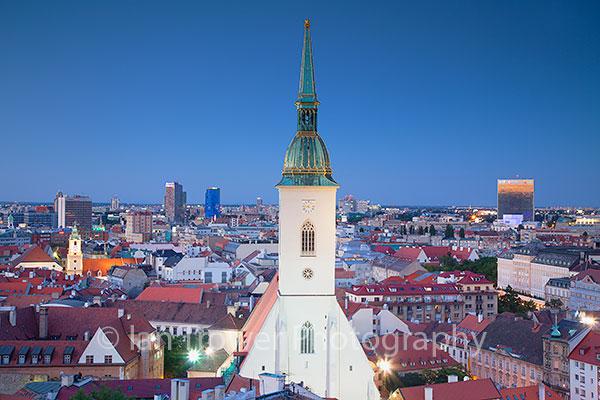 St Martin's Cathedral and skyline, Bratislava